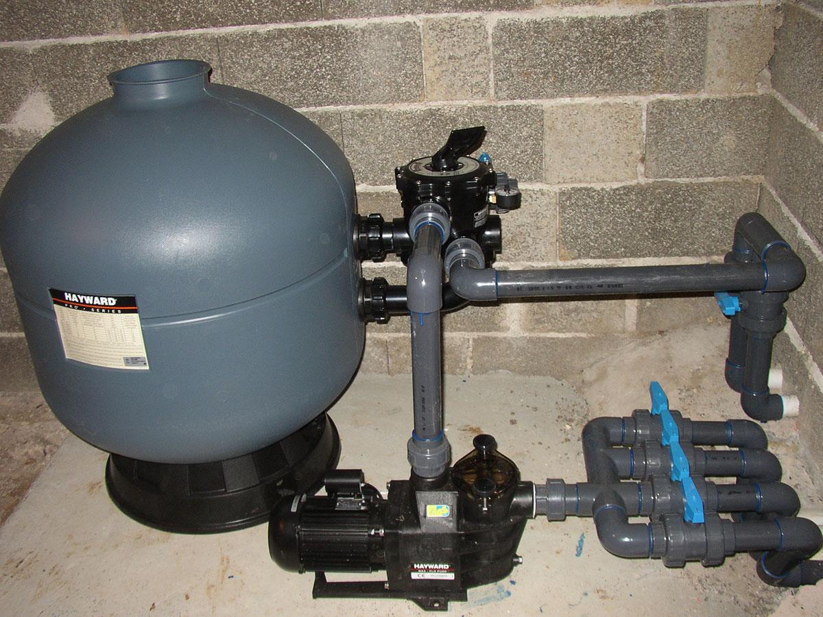 Pompe hayward great pompe de filtration m with pompe for Pompe piscine hayward