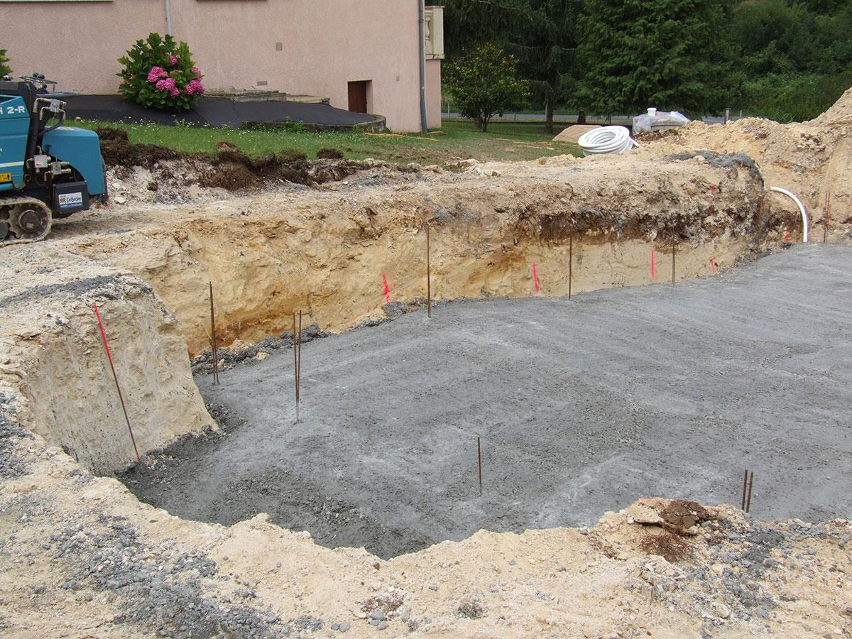 Piscines for Pieces a sceller piscine beton